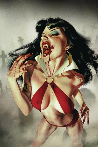Vengeance of Vampirella #1 (Middleton Virgin Cover)