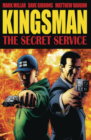 Kingsman: The Secret Service (Gibbons Cover)