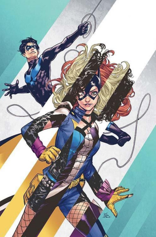 Batgirl and The Birds of Prey #8 (Variant Cover)