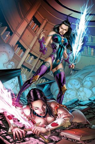 Grimm Fairy Tales #49 (Vitorino Cover)