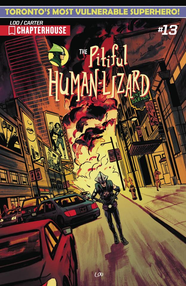 The Pitiful Human-Lizard #13