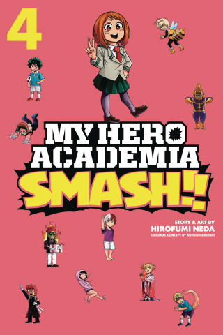 My Hero Academia: Smash!! Vol. 4