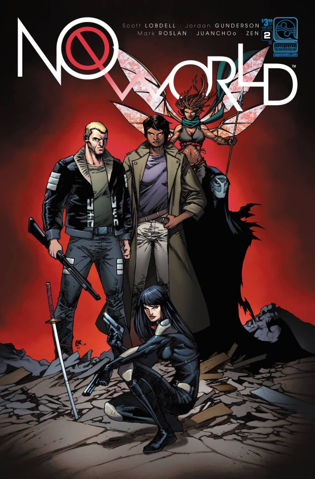 No World #2 (Lorenzana Cover)