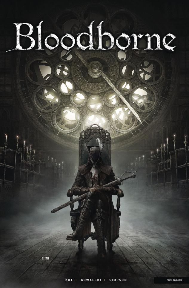 Bloodborne #4 (Game Cover)