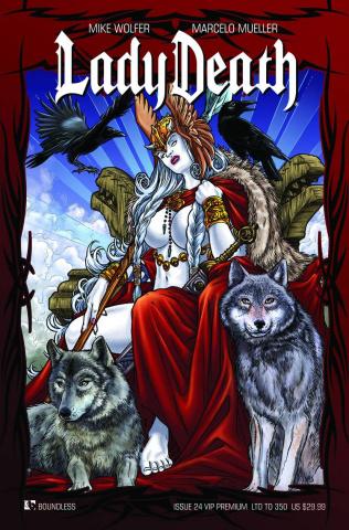 Lady Death #24 (VIP Ultra Premium Cover)