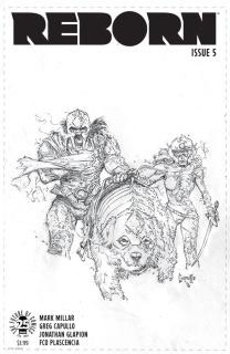 Reborn #5 (100 Copy Capullo Cover)