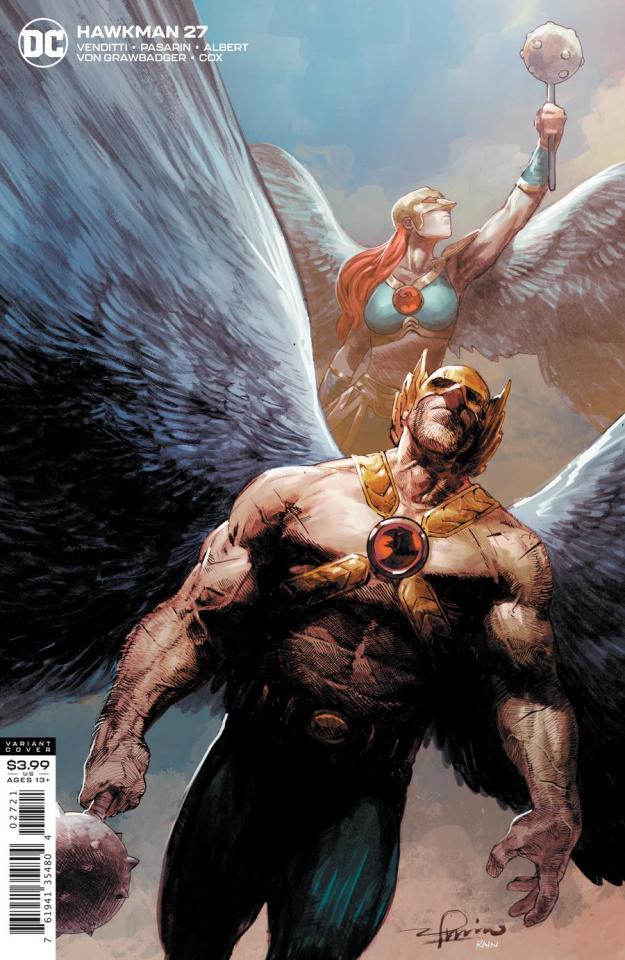 Hawkman #27 (Gerardo Zaffino Cover)