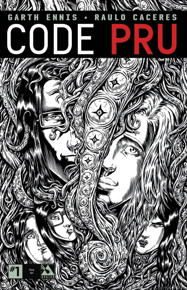 Code Pru #1 (Pure Art Order Incentive Cover)