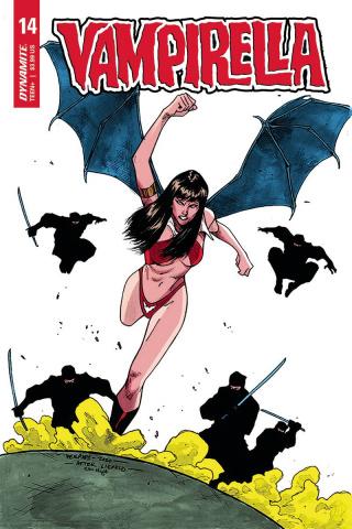Vampirella #14 (7 Copy Peeples Homage Cover)