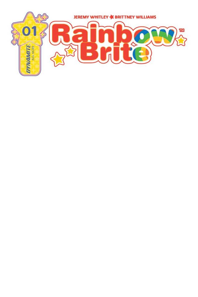 Rainbow Brite #1 (Blank Authentix Cover)
