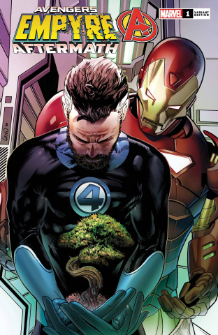 Empyre Aftermath: Avengers #1 (Land Cover)