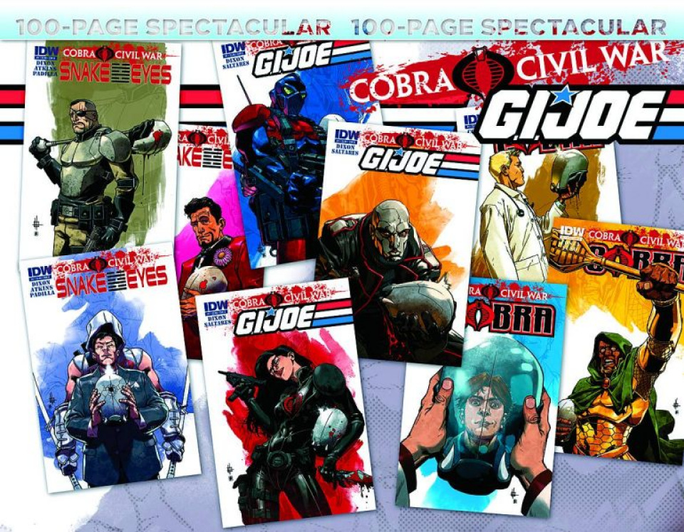 G.I. Joe: Cobra Civil War - 100 Page Spectacular