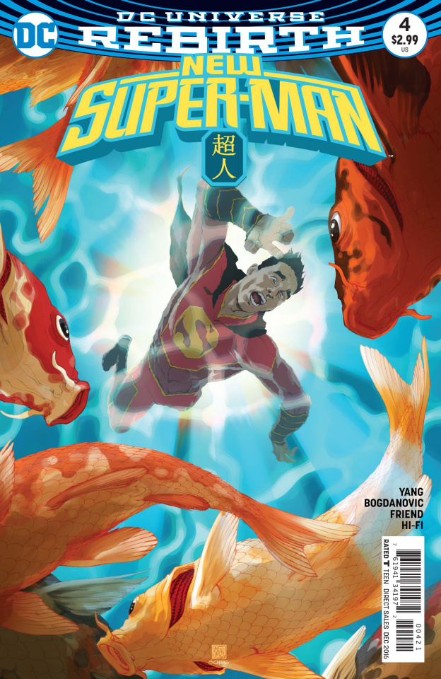 New Super-Man #4 (Variant Cover)