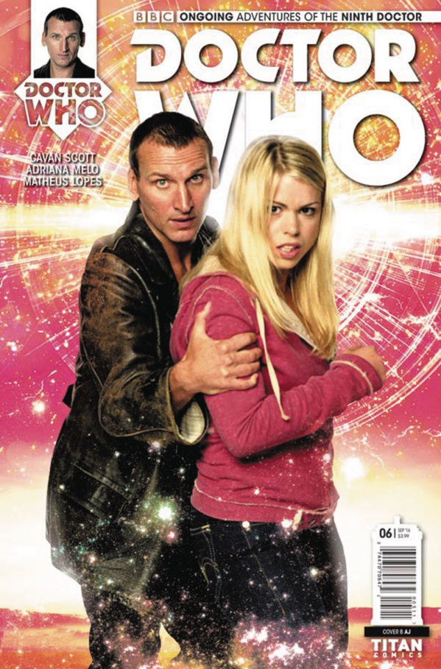 Doctor Who: New Adventures with the Ninth Doctor #6 (Photo Cover)