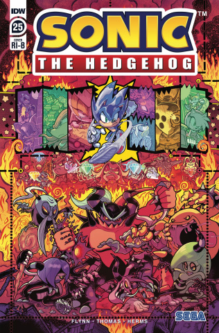 Sonic the Hedgehog #25 (25 Copy Gray & Graham Cover)