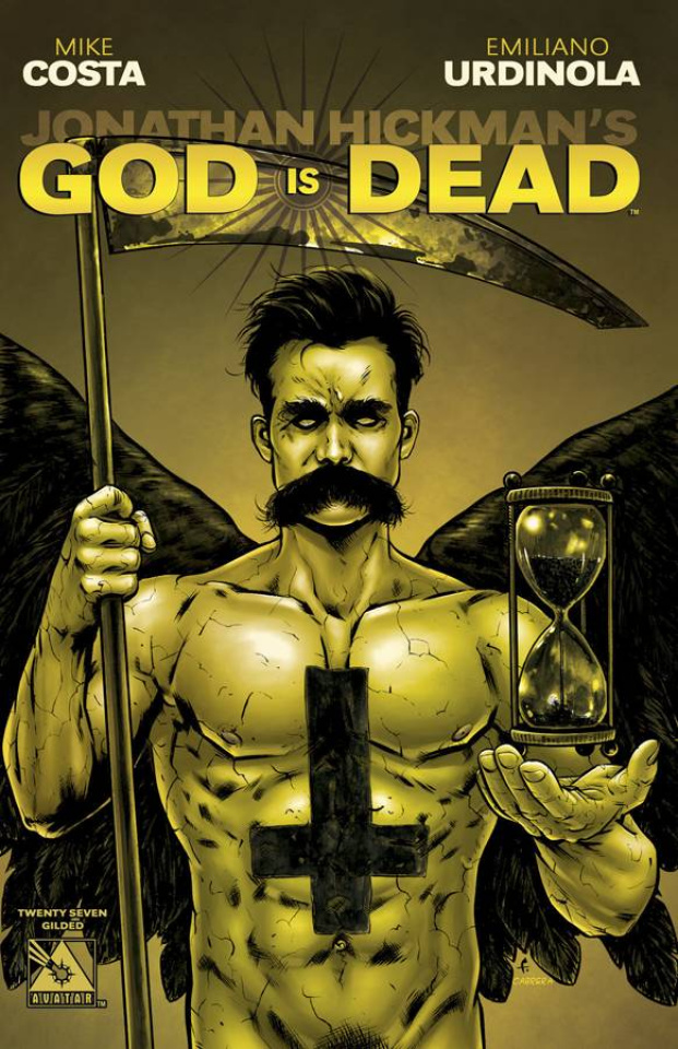 God Is Dead #27 (Gilded Retailer Cover)