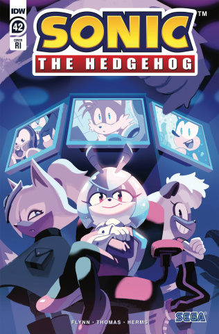 Sonic the Hedgehog #42 (10 Copy Fourdraine Cover)