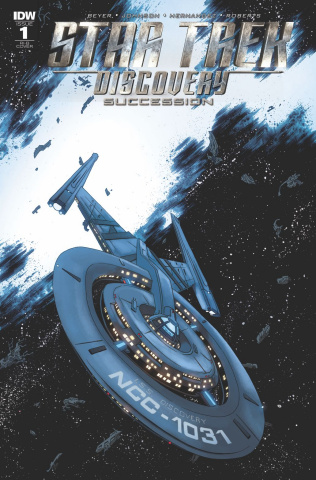 Star Trek: Discovery - Succession #1 (25 Copy Cover)