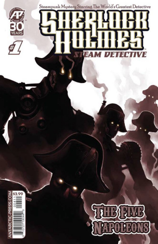 Sherlock Holmes, Steam Detective: The Five Napoleons #1