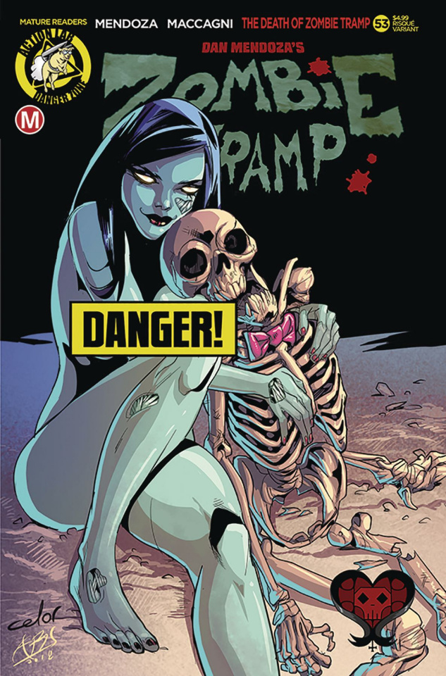 Zombie Tramp #53 (Celor Risque Cover)