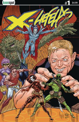 X-Liefelds #1 (Nikolakakis Cover)