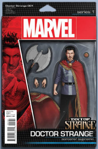 Doctor Strange #1 (Christopher Action Figure Cover)
