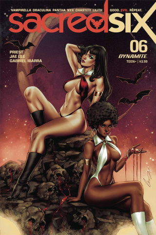 Sacred Six #6 (Chatzoudis Cover)