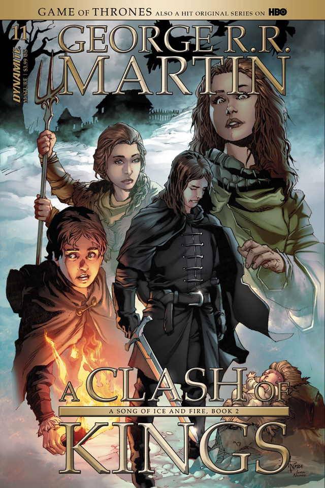 A Game of Thrones: A Clash of Kings #11 (Subscription Rubi Cover)