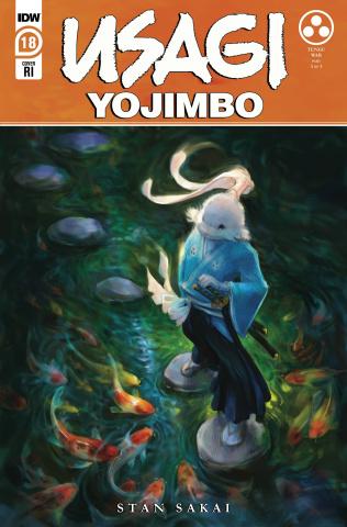 Usagi Yojimbo #18 (10 Copy Jennifer Meyer Cover)