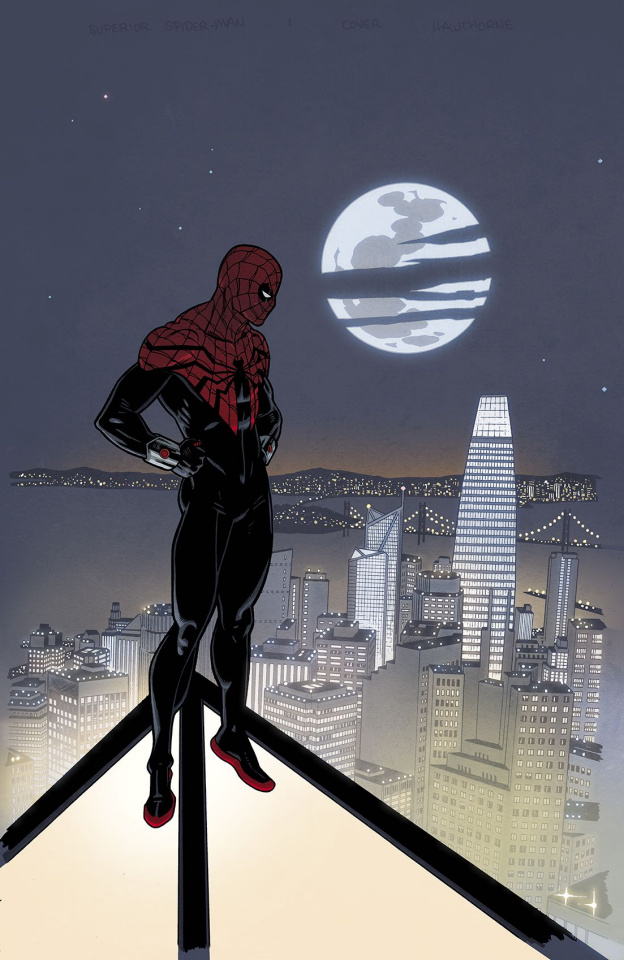 The Superior Spider-Man #1 (Hawthorne Cover)