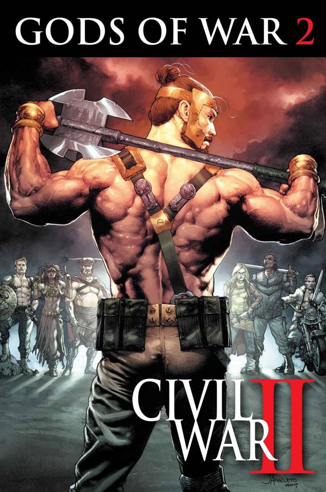 Civil War II: Gods of War #2