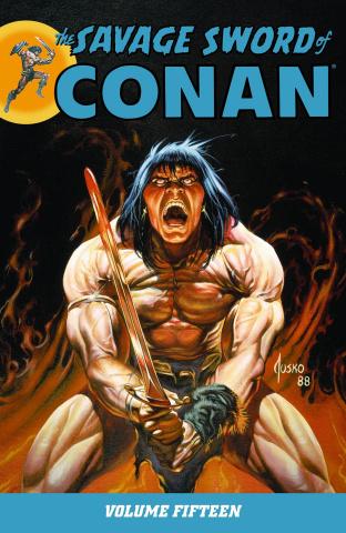 The Savage Sword of Conan Vol. 15