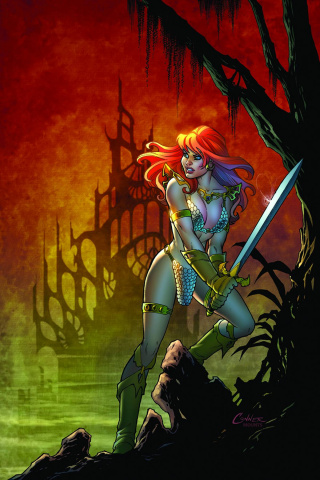 Red Sonja: The Black Tower #1 (Conner Virgin Cover)