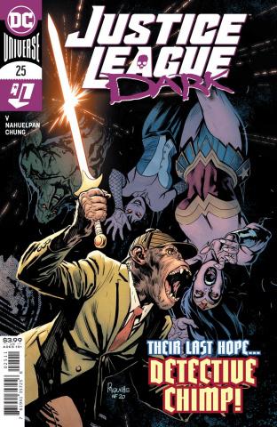Justice League Dark #25 (Yanick Paquette Cover)