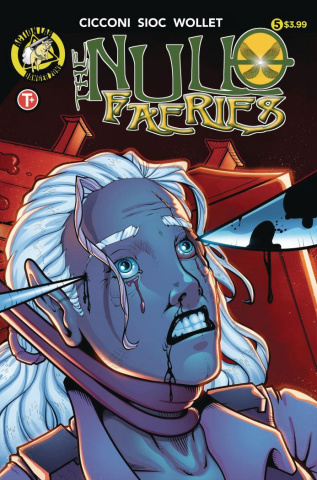 The Null Faeries #5 (Cicconi Cover)