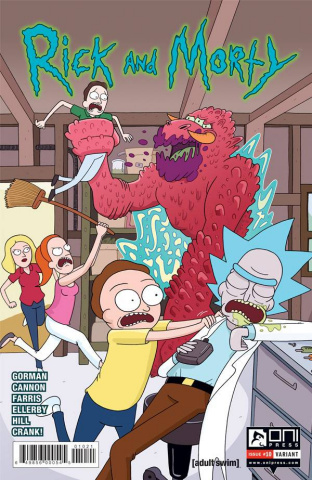 Rick and Morty #10 (Ellerby Cover)