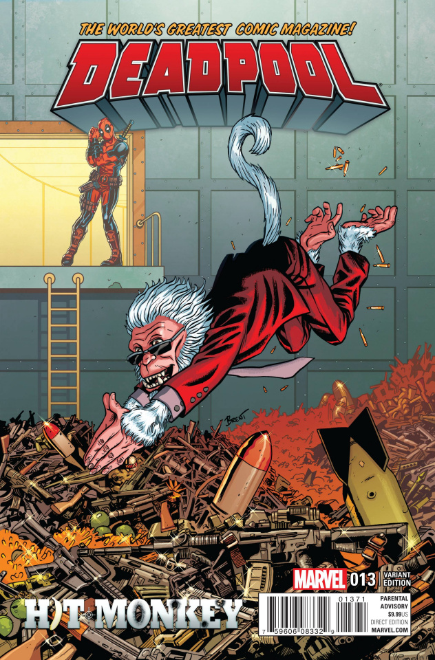 Deadpool #13 (Hit Monkey Cover)