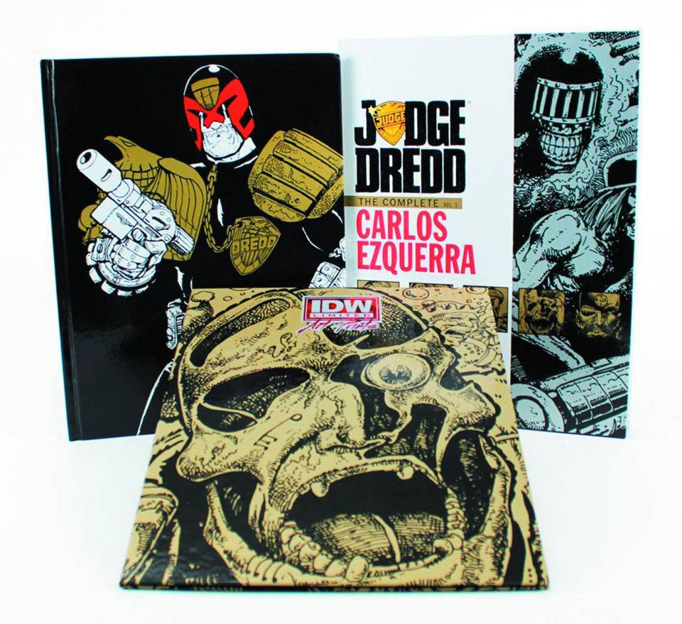 Judge Dredd: The Complete Carlos Ezquerra Vol. 1 (Red Label Edition)