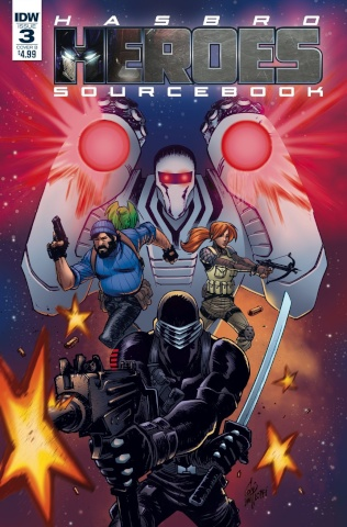 Hasbro Heroes Sourcebook #3 (Lotfi Cover)