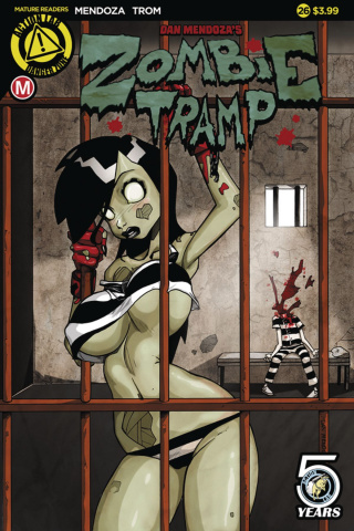 Zombie Tramp #26 (Mendoza Cover)