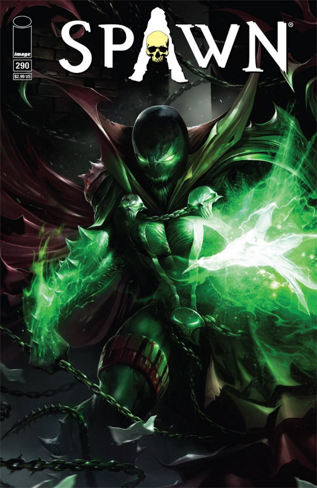 Spawn #290 (Mattina Cover)