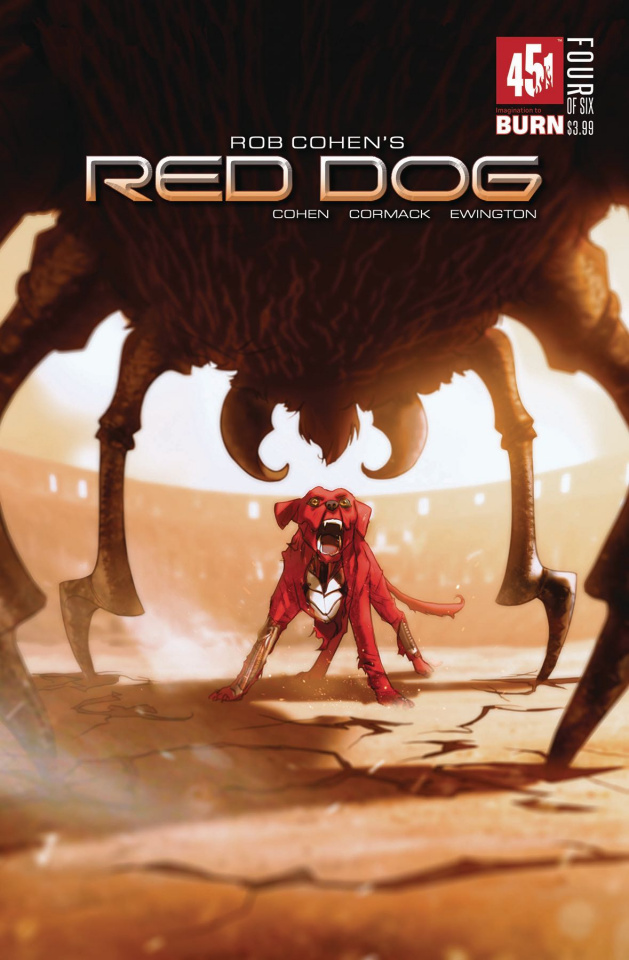 Red Dog #4 (Forbes Cover)