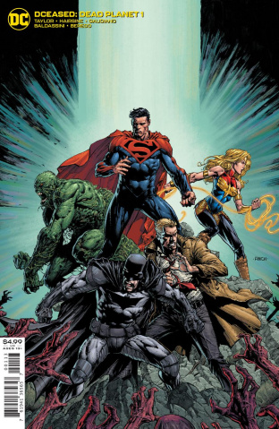 DCeased: Dead Planet #1 (David Finch Minimal 3rd Printing)