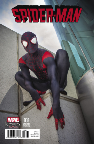 Spider-Man #8 (Cosplay Cover)