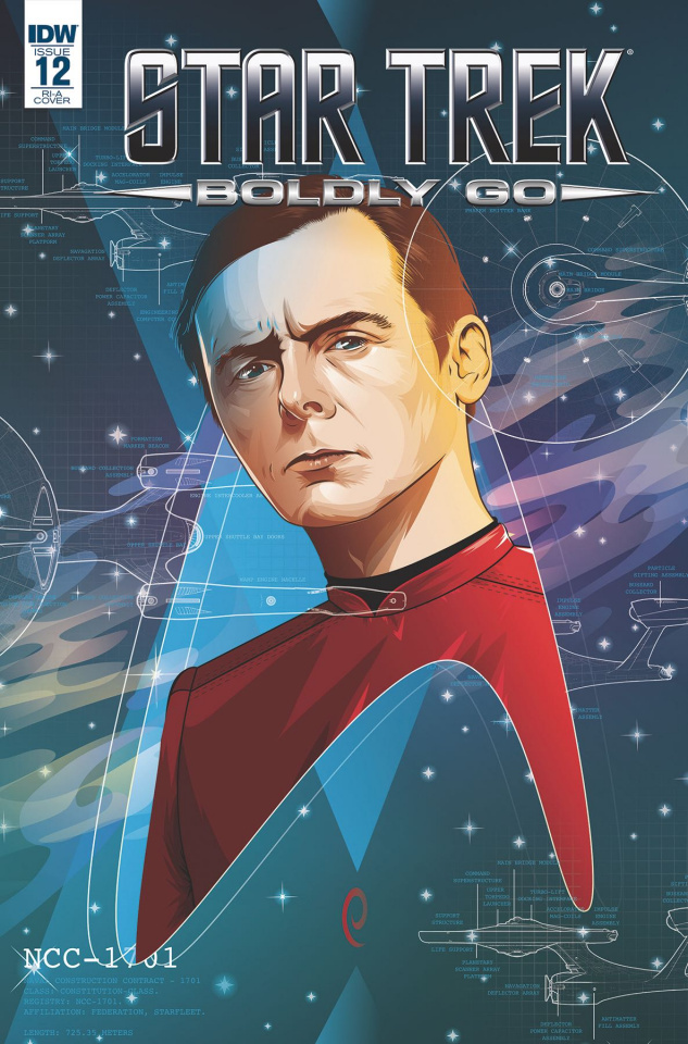 Star Trek: Boldly Go #12 (Caltsoudas Cover)