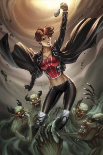 Grimm Fairy Tales: Inferno - Resurrection #4 (Rich Cover)