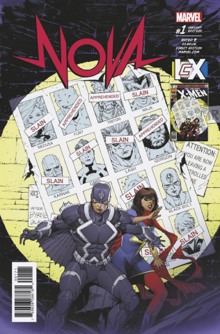 Nova #1 (Pham IvX Cover)