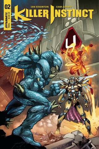 Killer Instinct #2 (Cinar Cover)
