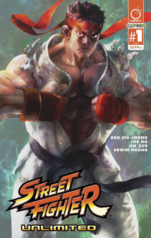 Street Fighter Unlimited #1 (40 Copy Bengus Cover)