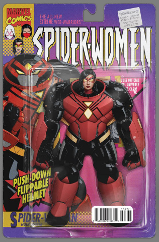 Spider-Woman #7 (Christopher Action Figure Cover)